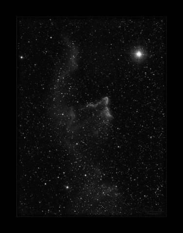 The Ghost of Cassiopeia  IC 63